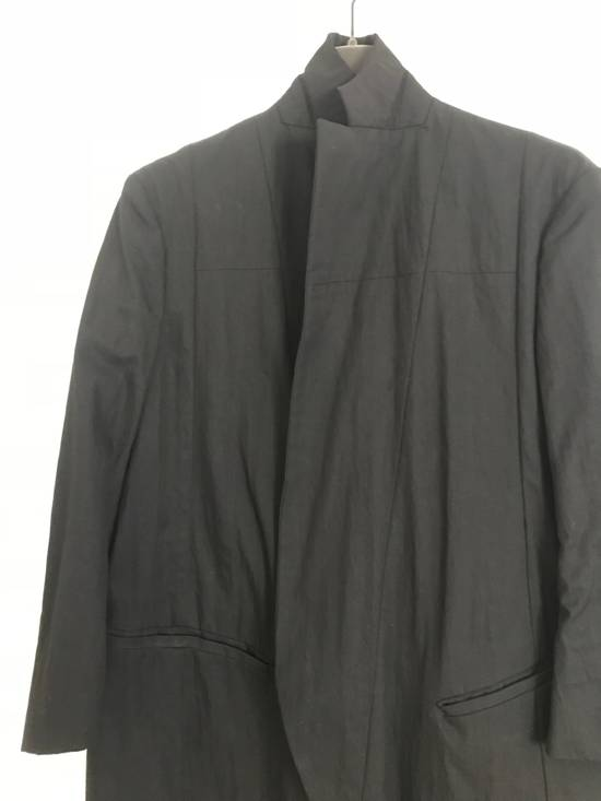 Julius JULIUS BLACK LONG BLAZER W TAGS NEVER BEEN WORN SIZE 1 Size 38R - 8