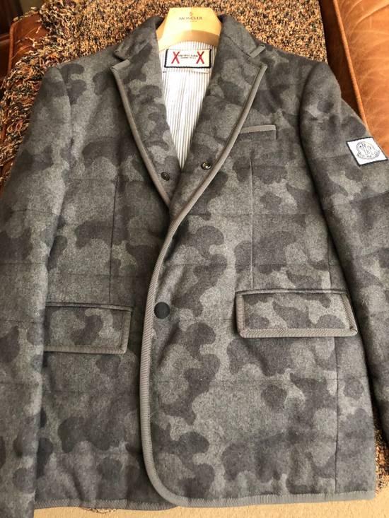 Thom Browne Moncler Gamme Bleu Camo Cashmere Blazer Size 38R - 7