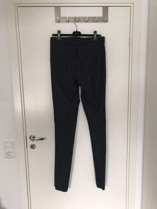 Givenchy Pinstripe Wool Trousers Size US 32 / EU 48 - 1