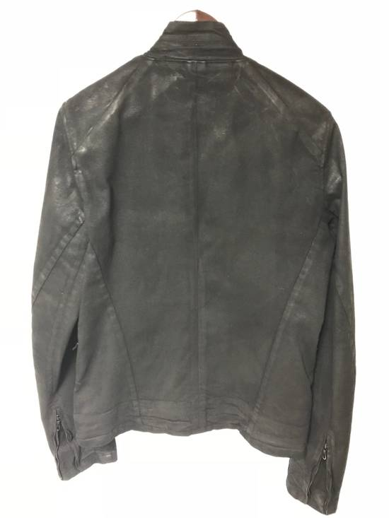 Julius (Final Drop) F/W 16 Sphere Waxed Denim Jacket Size US M / EU 48-50 / 2 - 2