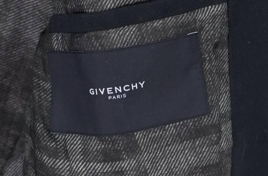 Givenchy Black Cotton Moleskin Blazer Size US L / EU 52-54 / 3 - 3
