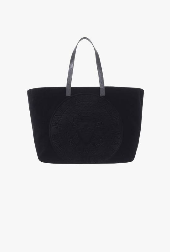Balmain Embossed Velvet Bag Size ONE SIZE - 2