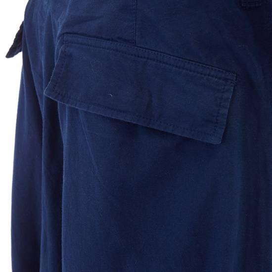 """Yohji Yamamoto YOHJI YAMAMOTO blue cotton dropped crotch exteme wide leg cargo pants JP3 33"""" L Size US 33 - 8"""