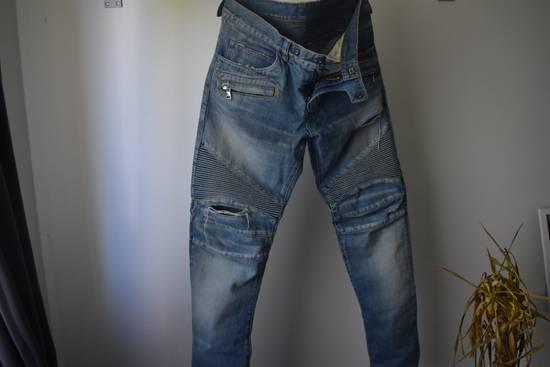 Balmain Balmain Biker Denim Jeans Size 33 Size US 33 - 1