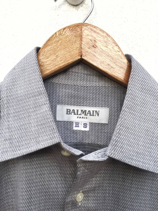 Balmain Plaid Single Pocket Button Up Shirt Size US M / EU 48-50 / 2 - 4