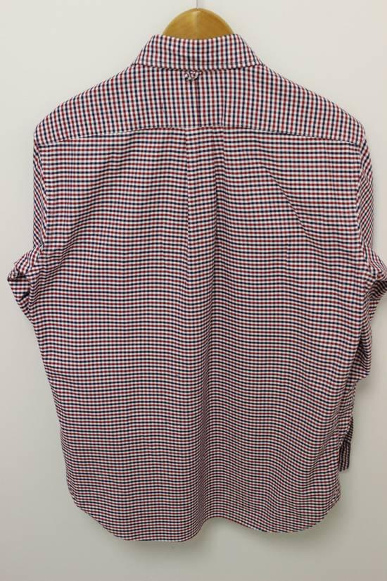 Thom Browne Black Fleece Checkered Oxford Shirt BB2 Size US M / EU 48-50 / 2 - 5