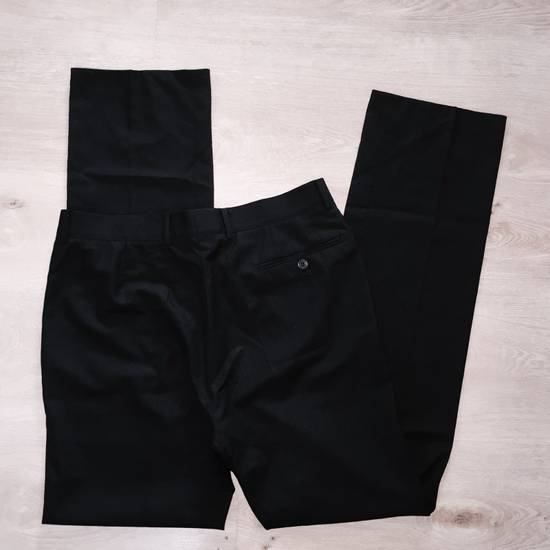 Vintage GIANNI VERSACE Couture pre 1993 Year Vintage Black Wool Pants 52 IT Rare Designer Luxury Made In Italy Casual trousers 1990's 2pac Notorious Russian Mafia Size US 36 / EU 52 - 2
