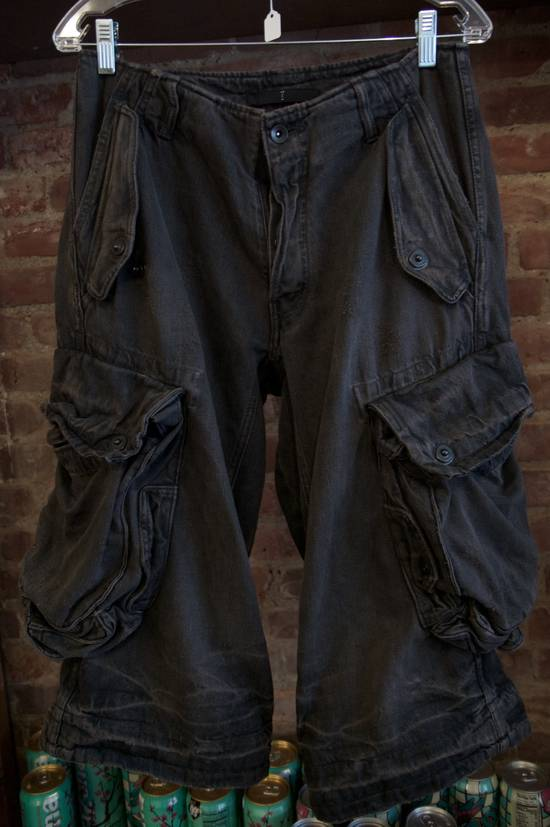 Julius S/S2009 Gas Mask Cargo Pants Size US 29