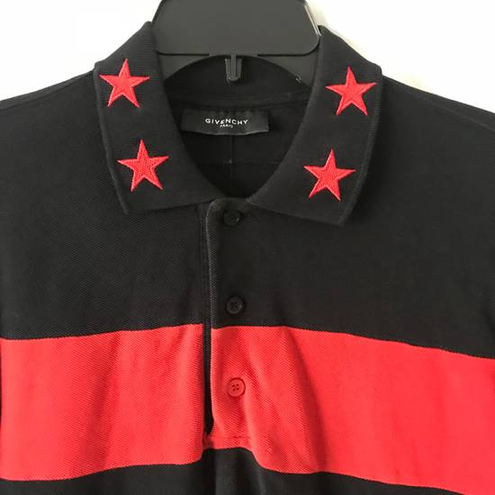 Givenchy $995 Givenchy Long Sleeve Stars and Stripes Polo Shirt Size US S / EU 44-46 / 1 - 3