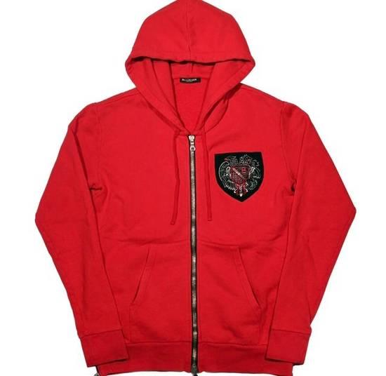 Balmain 12FW Red Hoodie Size US M / EU 48-50 / 2
