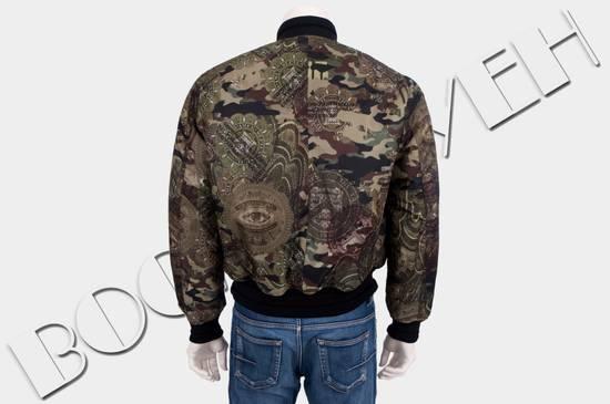 Givenchy 2995$ American Dollar Camouflage Bomber Jacket Size US S / EU 44-46 / 1 - 4