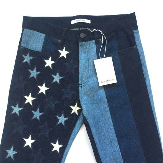 Givenchy $1.3k Stars & Stripes Denim Jeans NWT Size US 32 / EU 48 - 4