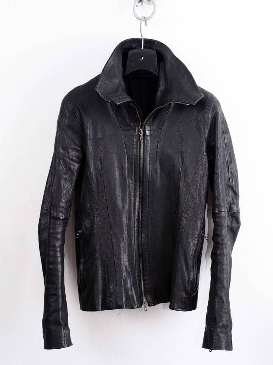 Julius Julius jut Neck Leather Jacket Size US S / EU 44-46 / 1