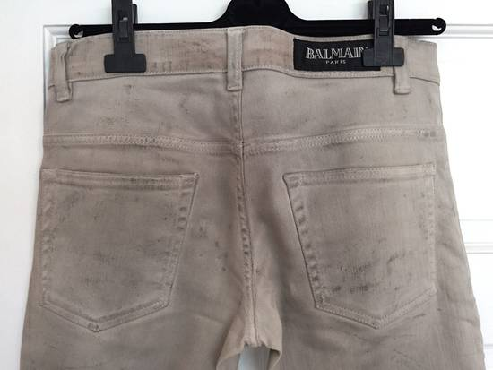 "Balmain FW11 Decarnin ""Dirty"" Slim Jeans. (fit 28) Size US 29 - 7"