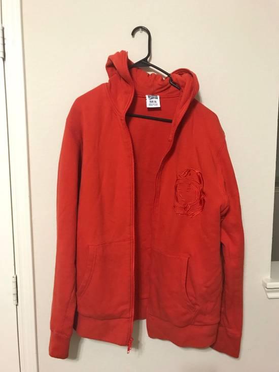 Billionaire Boys Club BBC Orange Zip Up Hoodie Jacket Size US XL / EU 56 / 4