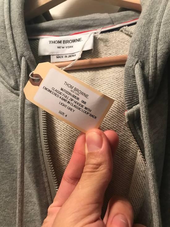 Thom Browne Classic Grey Zip Up Hoodie Size US L / EU 52-54 / 3 - 7