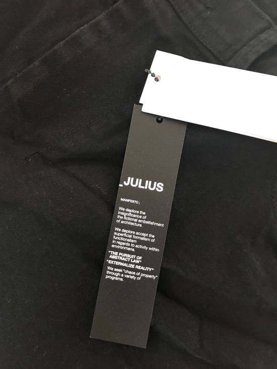 Julius 2-3-4 / 577PAM13 Knee Slit Distressed 11.5 Oz Denim In Black Size US 34 / EU 50 - 7