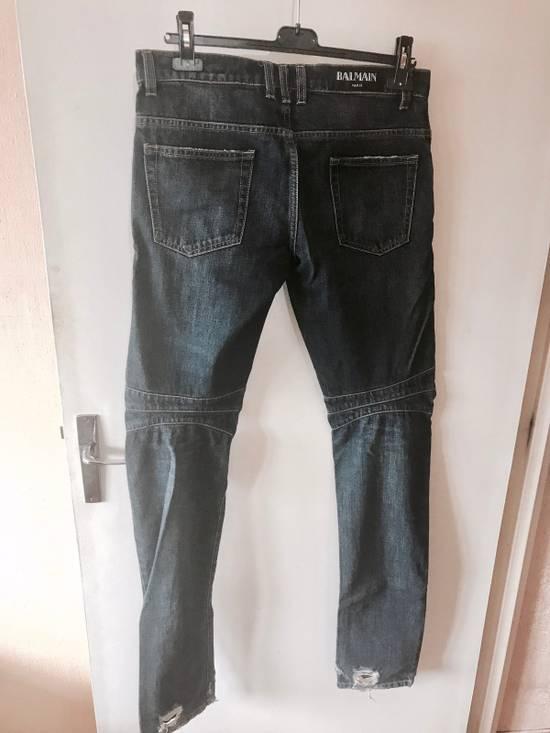 Balmain Biker Jeans Size US 30 / EU 46 - 3