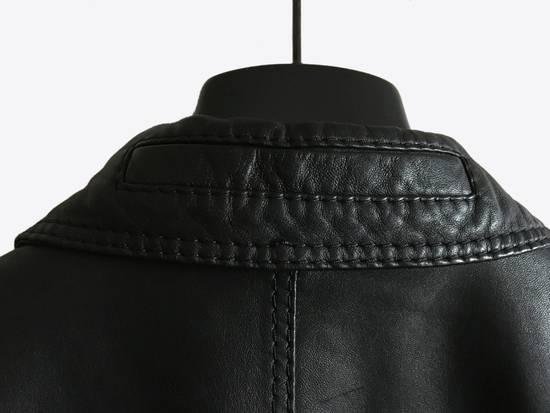 Dior AW05 Dior Homme 'L-Zip' Leather Motorcycle Biker Jacket Sz 50 Size US M / EU 48-50 / 2 - 4