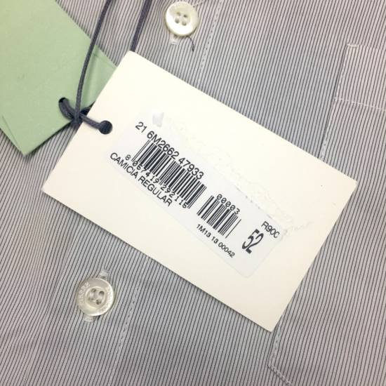 Balmain Fine Stripe Button Down Shirt NWT Size US L / EU 52-54 / 3 - 4