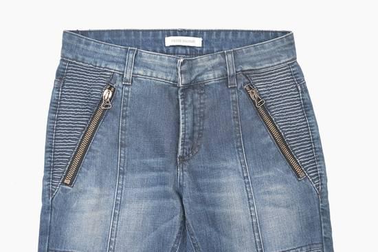 Balmain Coated Blue Moto jeans Size US 29 - 2