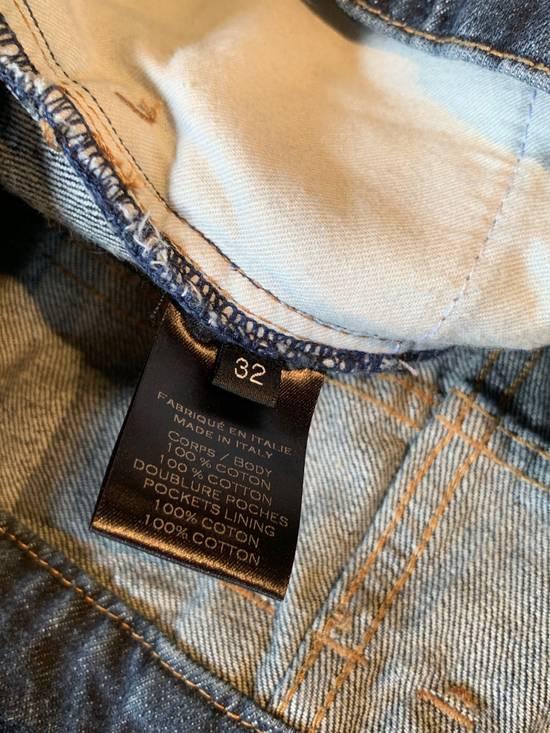 Balmain Balmain Washed Indigo Blue Biker Jeans Size US 32 / EU 48 - 7