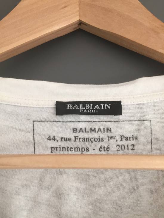 Balmain T-shirt oversized BALMAIN from spring/summer12 Size US L / EU 52-54 / 3 - 2