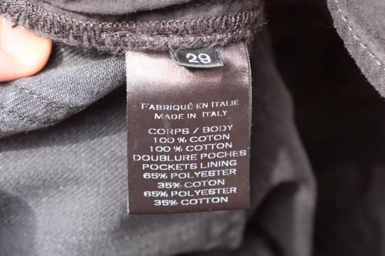 Balmain Black Waxed Biker Jeans Size US 29 - 9