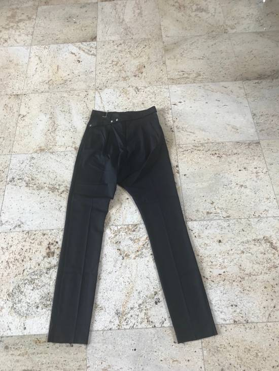Givenchy Belted & Pleated Casual Suit Pants In Black Size US 28 / EU 44 - 1