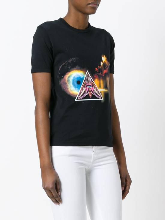 Givenchy $590 Givenchy Iconic Eye Print Rottweiler Bambi Stars Women's T-shirt size XS Size US XS / EU 42 / 0 - 2