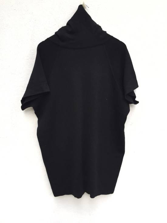 Balmain Authentic Japan Market Black Minimalist Shawl Collar Double Pocket Oversized Stretch Shirt Size US L / EU 52-54 / 3 - 1