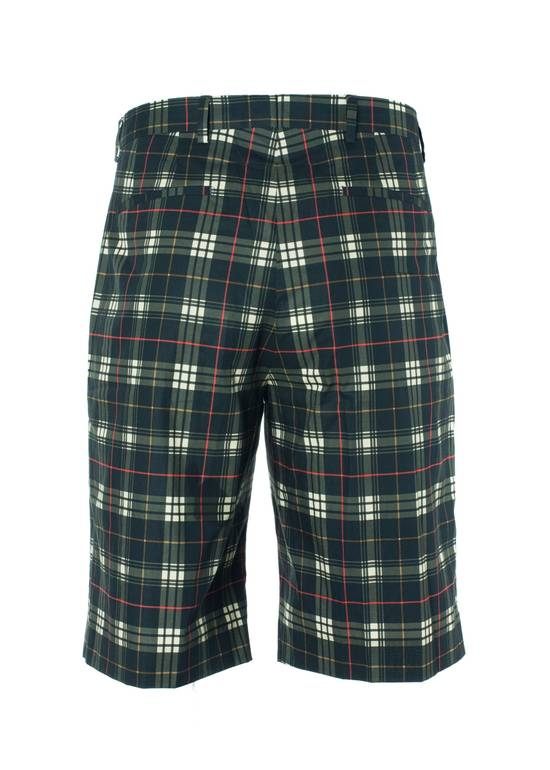 Givenchy Givenchy Mens 100% Cotton Black Plaid Board Shorts Size US 38 / EU 54 - 2