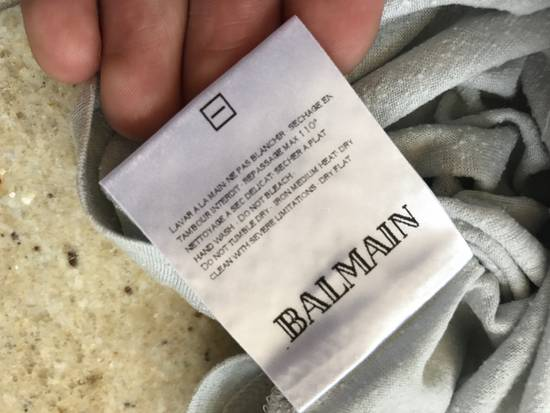 Balmain Light Grey Silk Tee Size US M / EU 48-50 / 2 - 8