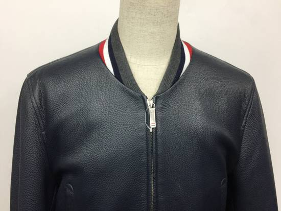Thom Browne Thom Browne Leather Jacket Size US L / EU 52-54 / 3 - 4