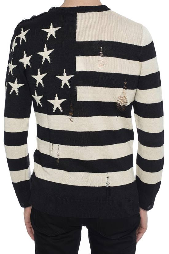 Balmain Brand New Balmain Flag Embroidered Sweater Size US L / EU 52-54 / 3 - 2