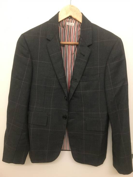 Thom Browne Thom Browne Prince of Wales w/ Red/White Overcheck Size 00 Size 34S