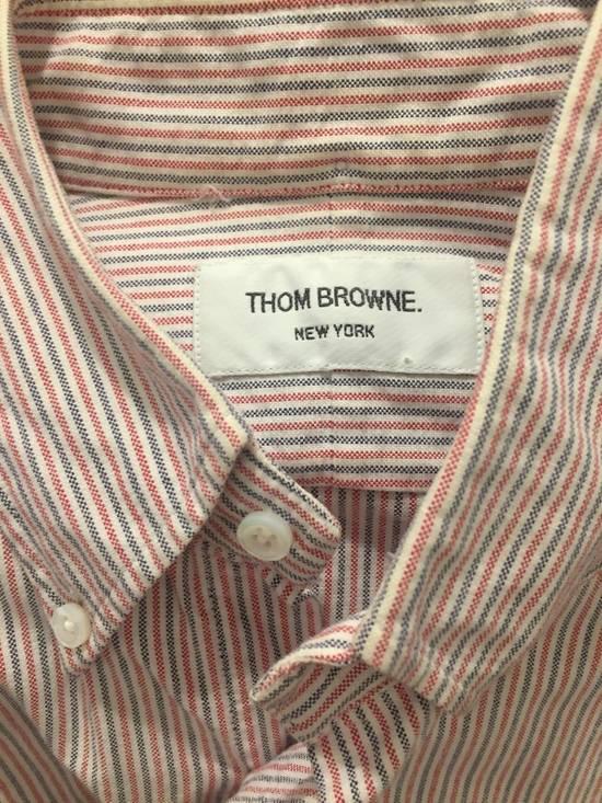 Thom Browne Striped Red & Blue Oxford Size US S / EU 44-46 / 1 - 3