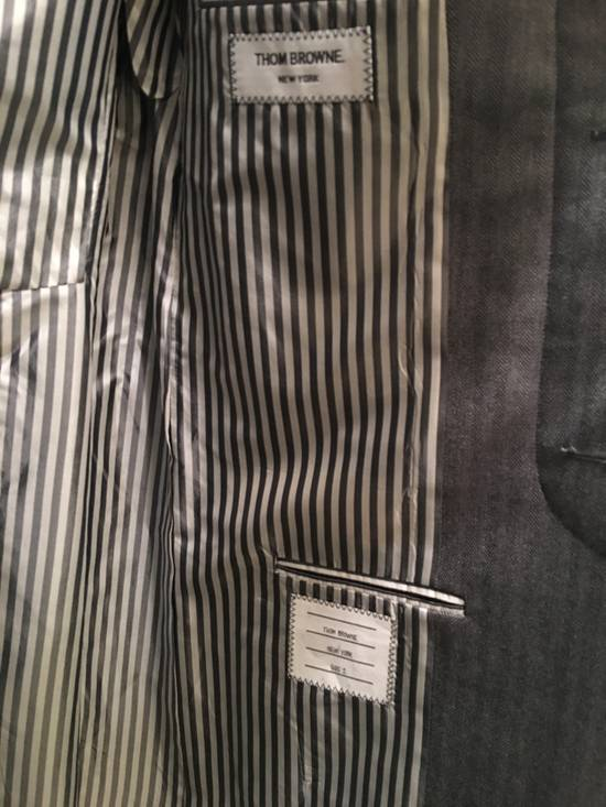 Thom Browne High Arm Chesterfield - size 2 Size 38S - 3