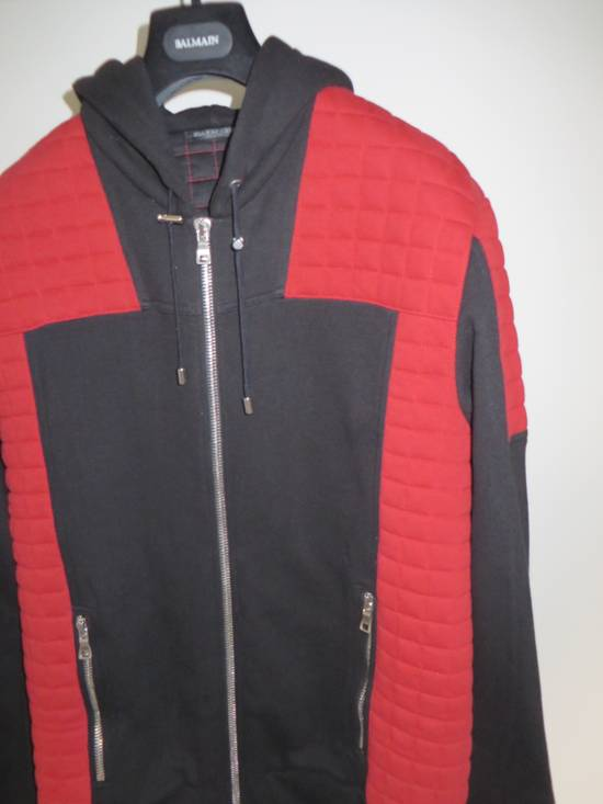 Balmain Quilted hoodie Size US XL / EU 56 / 4 - 5