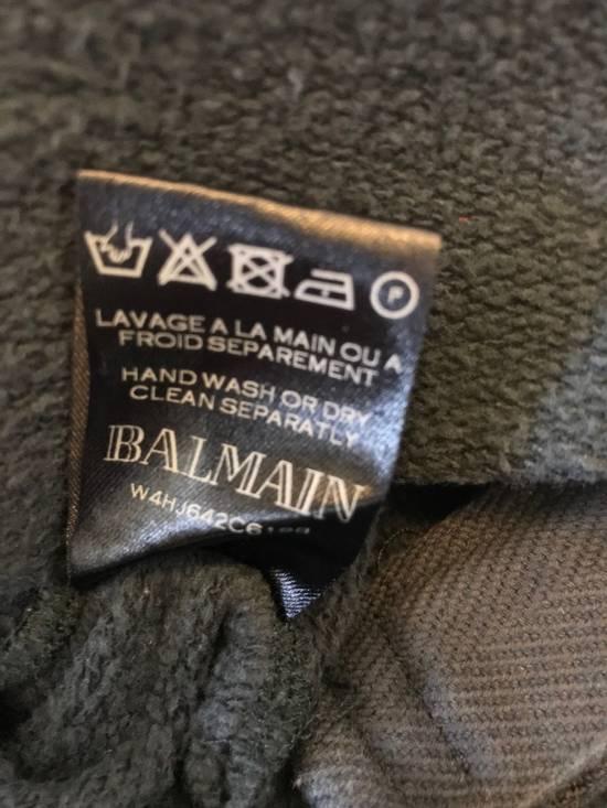 Balmain Side ZIP Hoodie with Badges Size US S / EU 44-46 / 1 - 6