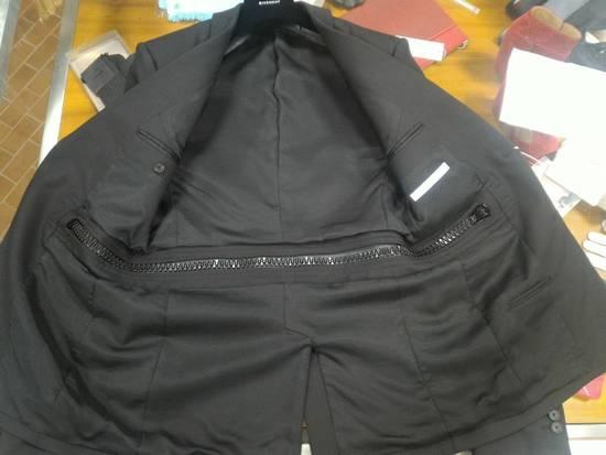 Givenchy 46-48 Zipped Blazer Mohair & Wool Jacket Size US M / EU 48-50 / 2 - 3