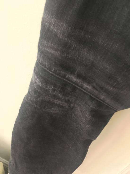 Balmain Dark Grey 3D jeans Size US 27 - 5