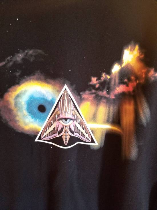 Givenchy Surreal Printed Eye Black Pyramid Jersey Sweatshirt Size US L / EU 52-54 / 3 - 1