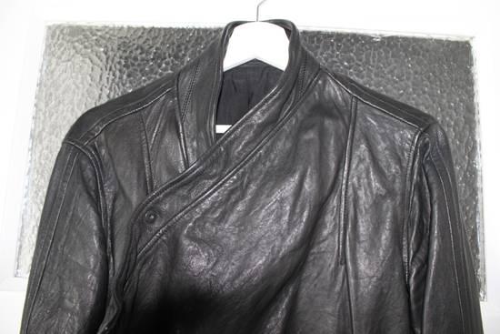 Julius 11aw halo asymmetrical leather jacket Size US M / EU 48-50 / 2 - 1