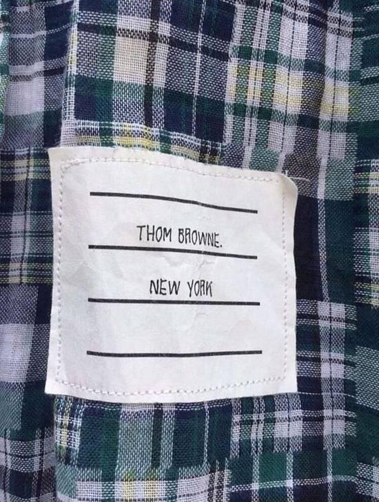 Thom Browne Patchwork Madras Shirt Size US S / EU 44-46 / 1 - 1