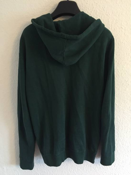 Balmain SS12 Forest Green Badge Hoodie size Large Size US L / EU 52-54 / 3 - 3