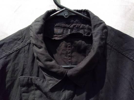 Julius Black Belted Asymmetric Shirt s/s13 Size US M / EU 48-50 / 2 - 2