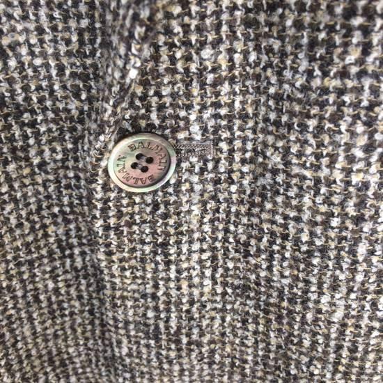 Balmain Tailored BALMAIN Blazer Italia Wool Woven by Ponzone Biellese Size 40R - 3