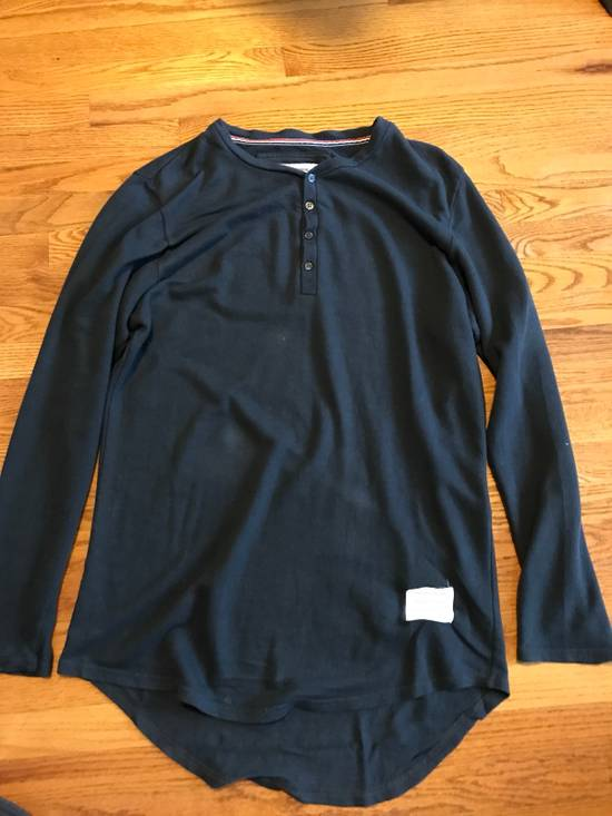 Thom Browne Long Sleeve Henley Size US M / EU 48-50 / 2