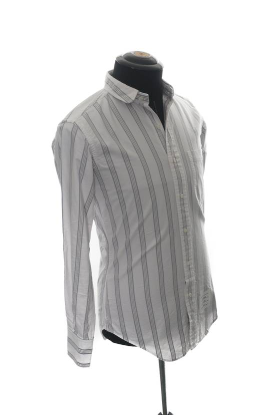 Thom Browne Thom Browne Brown Striped Shirt Size US XS / EU 42 / 0 - 1